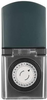 Časovač – mechanická spínací zásuvka venkovní IP44
