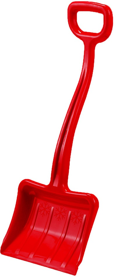 Dětská lopata na sníh Rulyt, červená