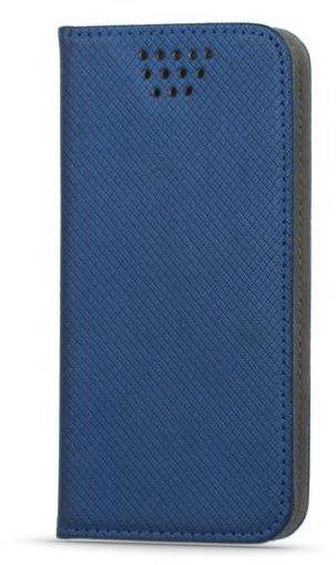 """CPA knížkové pouzdro univerzální typ B magnet 5,5 - 5,7"""" - modré (LCSSMUN-B55BL)"""