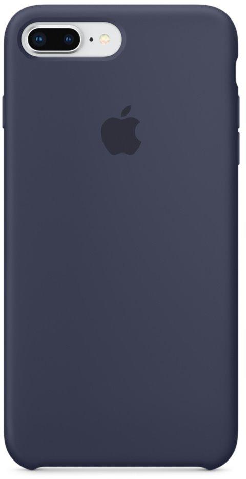 Kryt na mobil Apple Silicone Case pro iPhone 8 Plus   7 Plus - půlnočně  modrý c4183714029