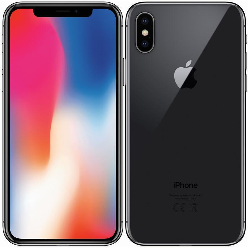 Mobilní telefon Apple iPhone X 256 GB - Space Gray