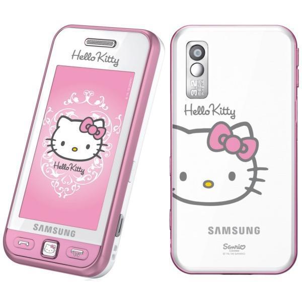 cbee0afa9 Mobilní telefon Samsung S5230 Star bílo/růžový Hello Kitty (White pink)