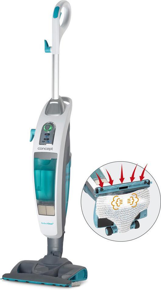 Vysavač tyčový a parní čistič Concept CP3000 Perfect Clean 3v1