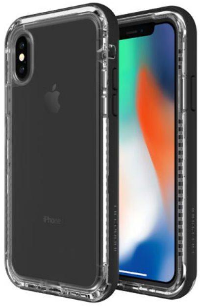 LifeProof Next ochranné pouzdro pro iPhone X průhledné - černé (77-57186) 4df1c0ef9be