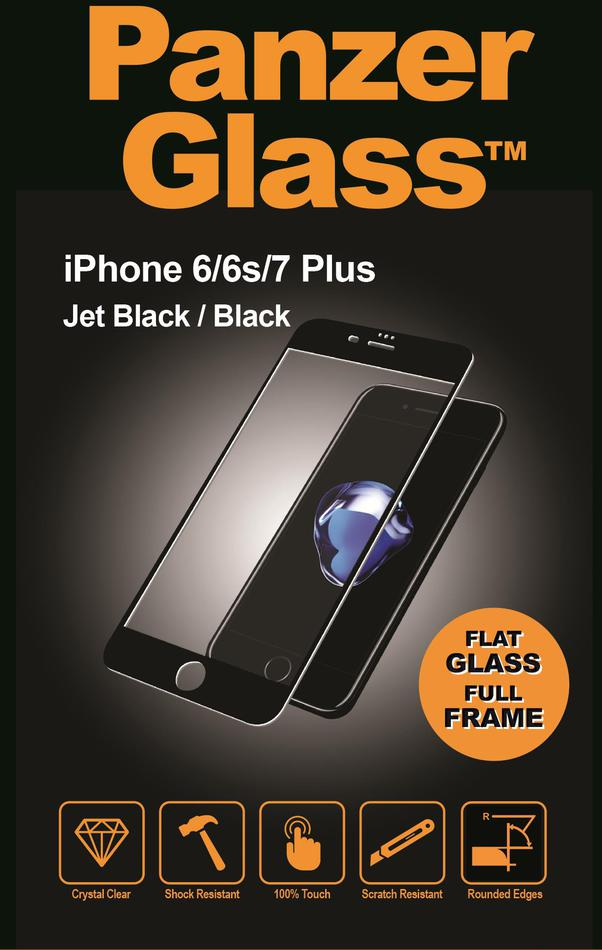 Ochranné sklo displeje PanzerGlass Edge to Edge pro Apple iPhone 6/6S/7/8 plus černé