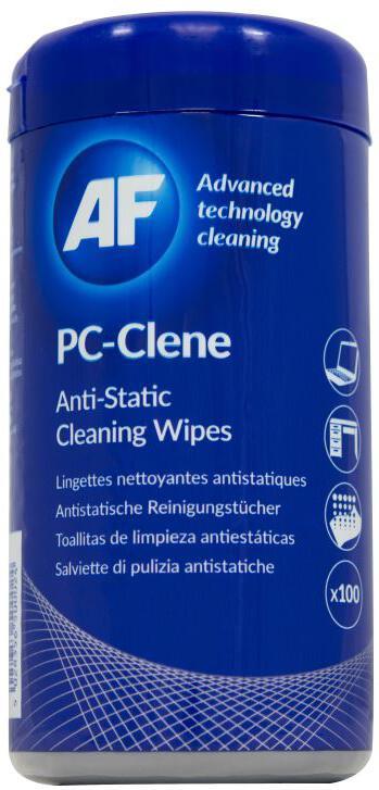 AF PC Clene - Impregnované čistící ubrousky AF (100ks) (APCC100)