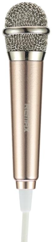 Remax K01 mikrofon,zlatá (AA-1233)