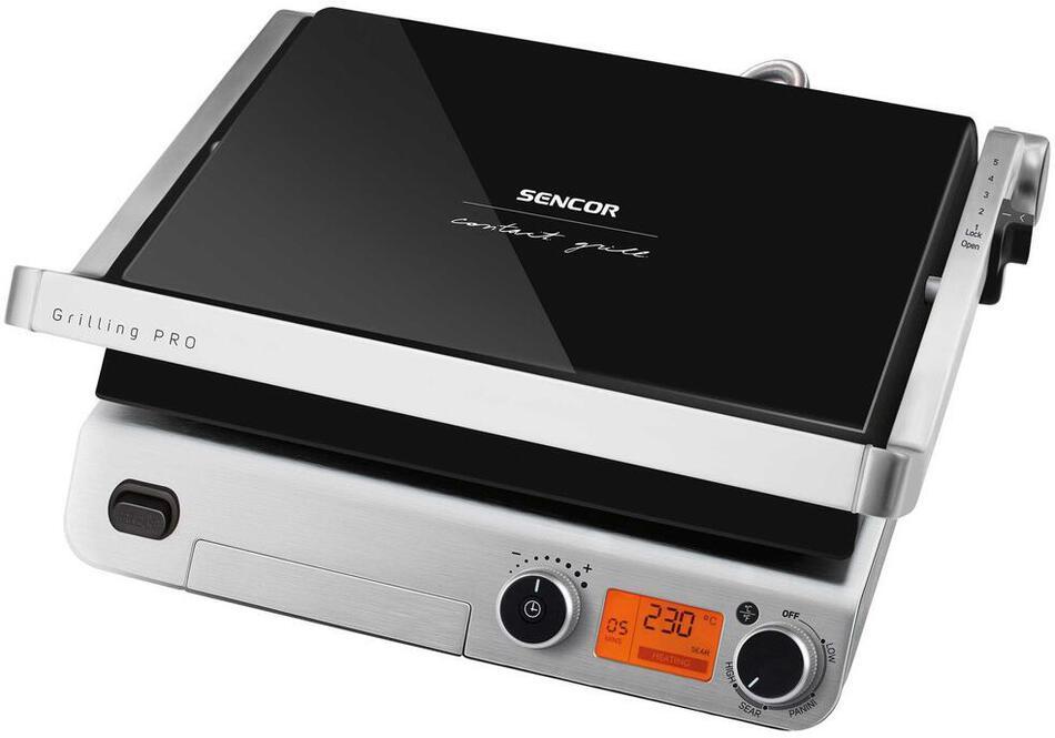 f4a3b6689a Kontaktní gril Sencor SBG 6650BK