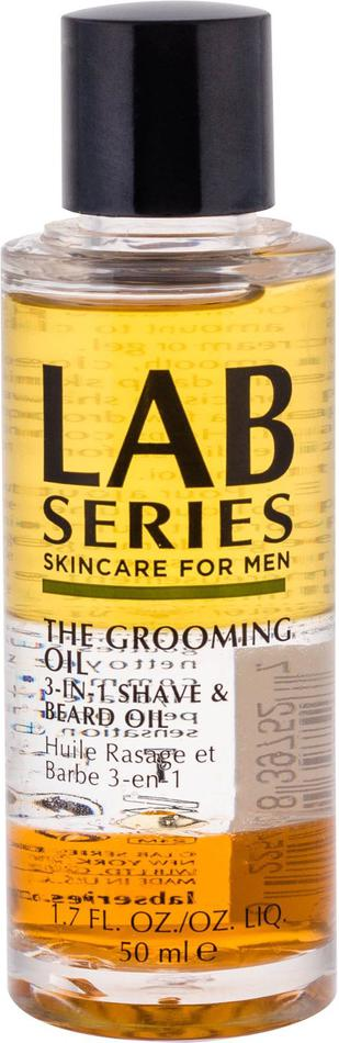 Olej na vousy Lab Series Shave, 50 ml (3-in-1 Shave & Beard Oil)