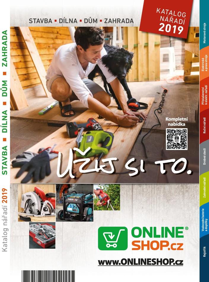 Akční katalog ONLINESHOP.cz - Dílna a zahrada 2019