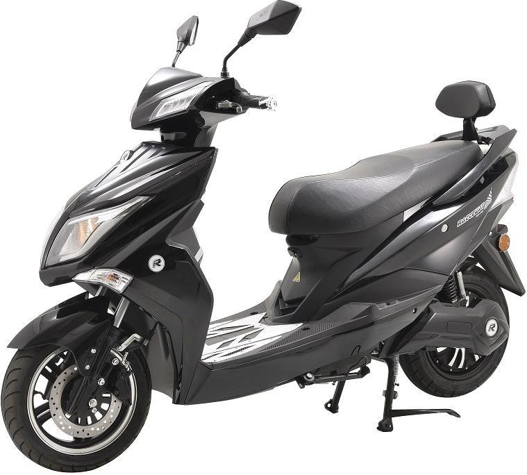 Elektrický motocykl RACCEWAY EXTREME, černý-lesklý