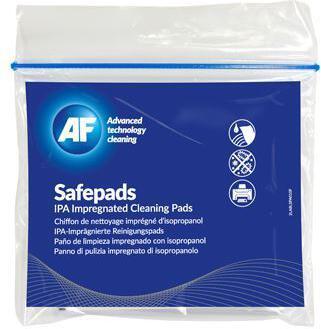 AF Safepads - čistící ubrousky impregnované isopropylalkoholem, 10 ks (SPA010)