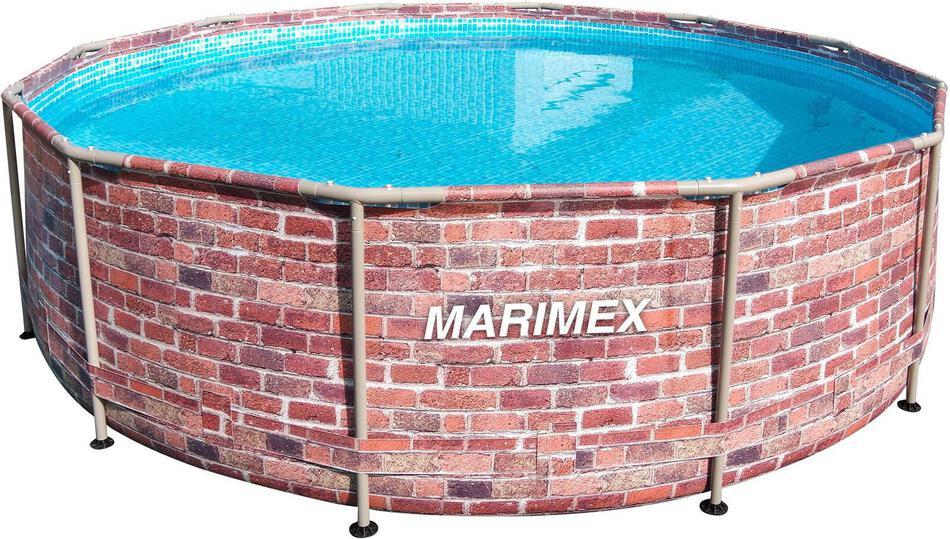 Bazén Marimex Florida CIHLA, dekor cihlový, limitovaná edice 3,66x0,99 m (10340243)