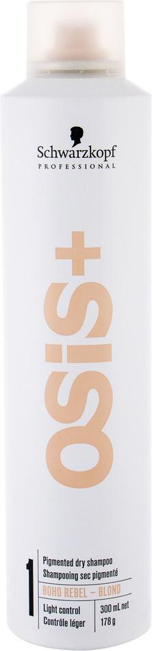 Suchý šampon Schwarzkopf Osis+, 300 ml, odstín Blond