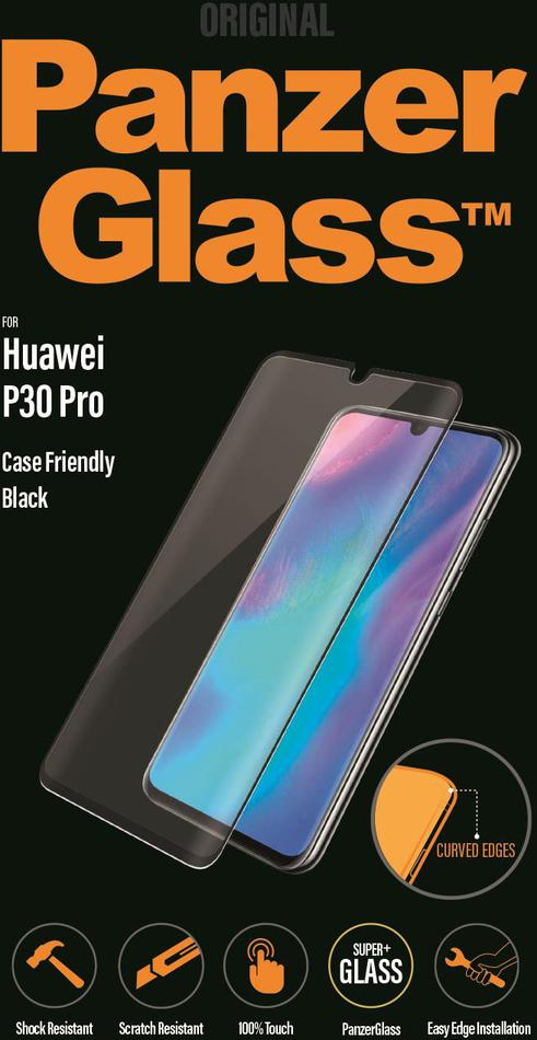 Ochranné sklo displeje PanzerGlass Premium pro Huawei P30 Pro černé