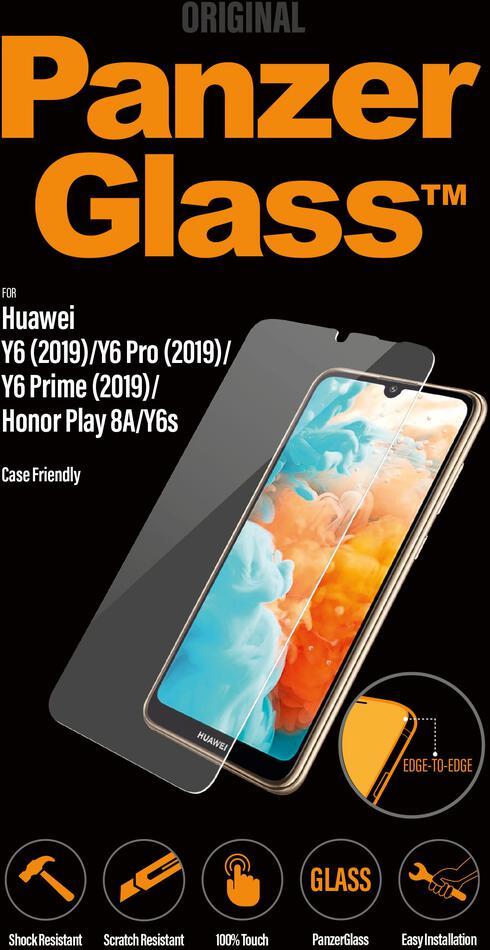 Ochranné sklo displeje PanzerGlass Standard pro Huawei Y6/Pro/Prime(2019)/HonorPlay8A/Y6s (2020)