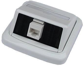 ABB Tango Datová zásuvka UTP CAT5E 1xRJ45 WHkey bílá (2421)