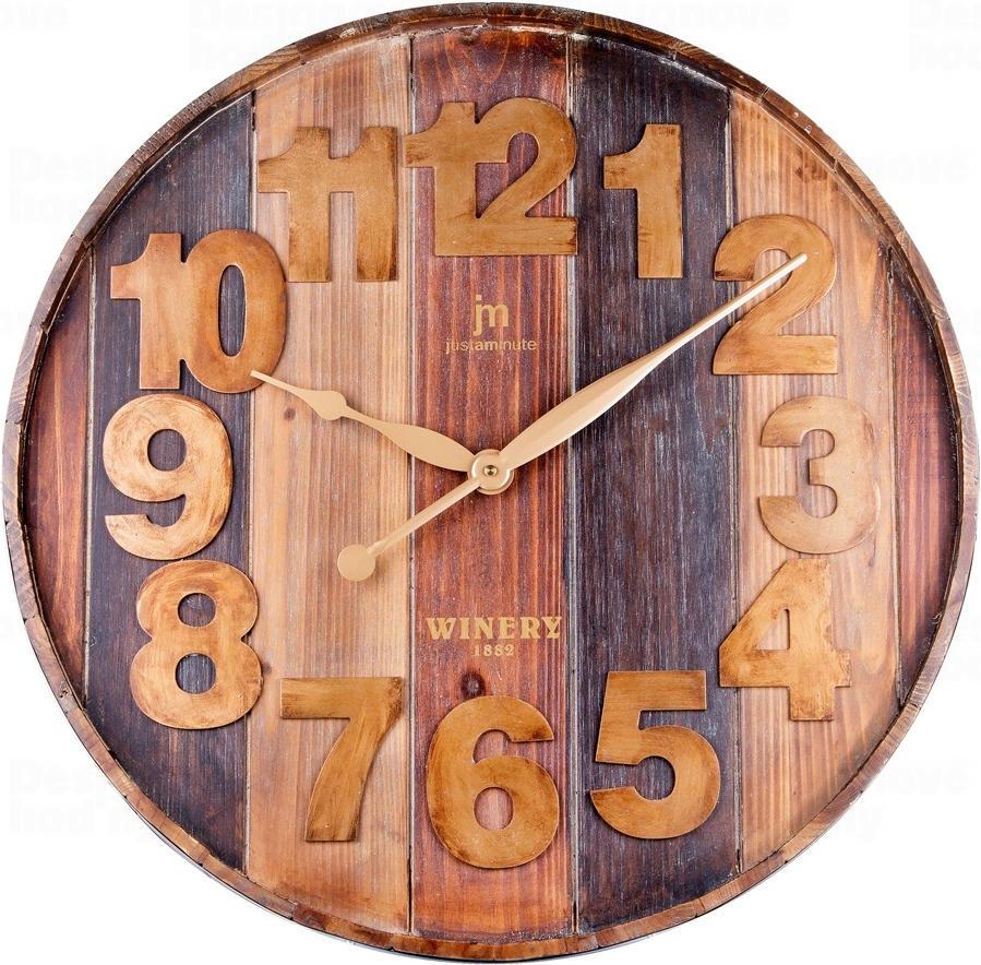 Designové nástěnné hodiny 21470 Lowell 60cm