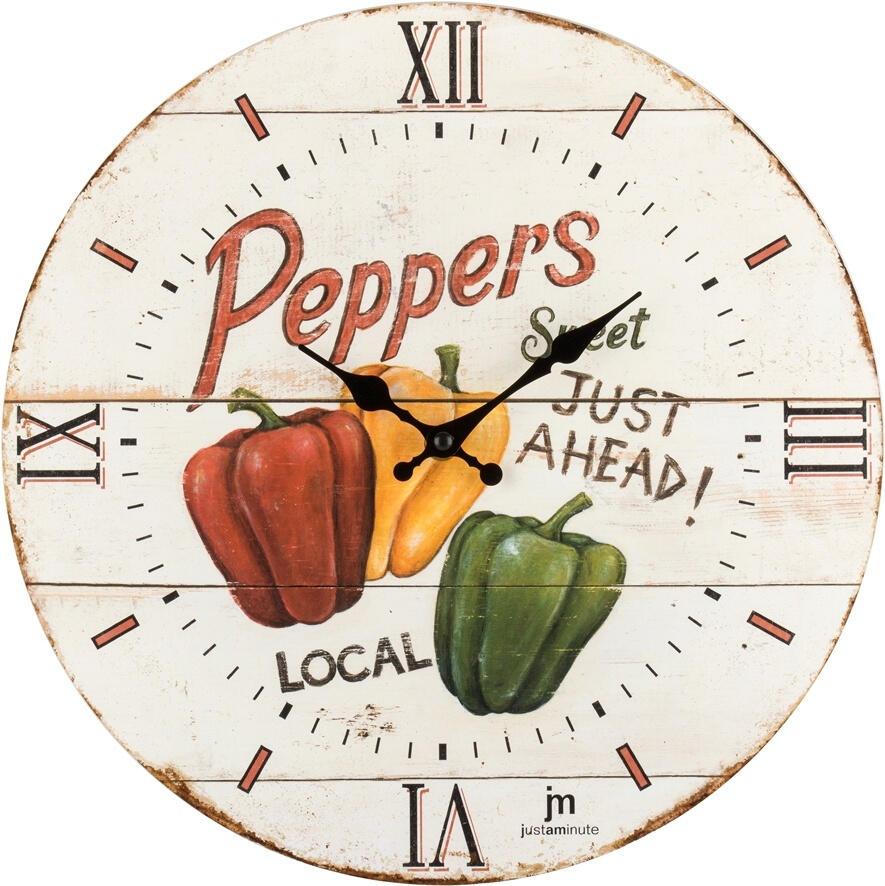 Designové nástěnné hodiny 21491 Lowell 34cm