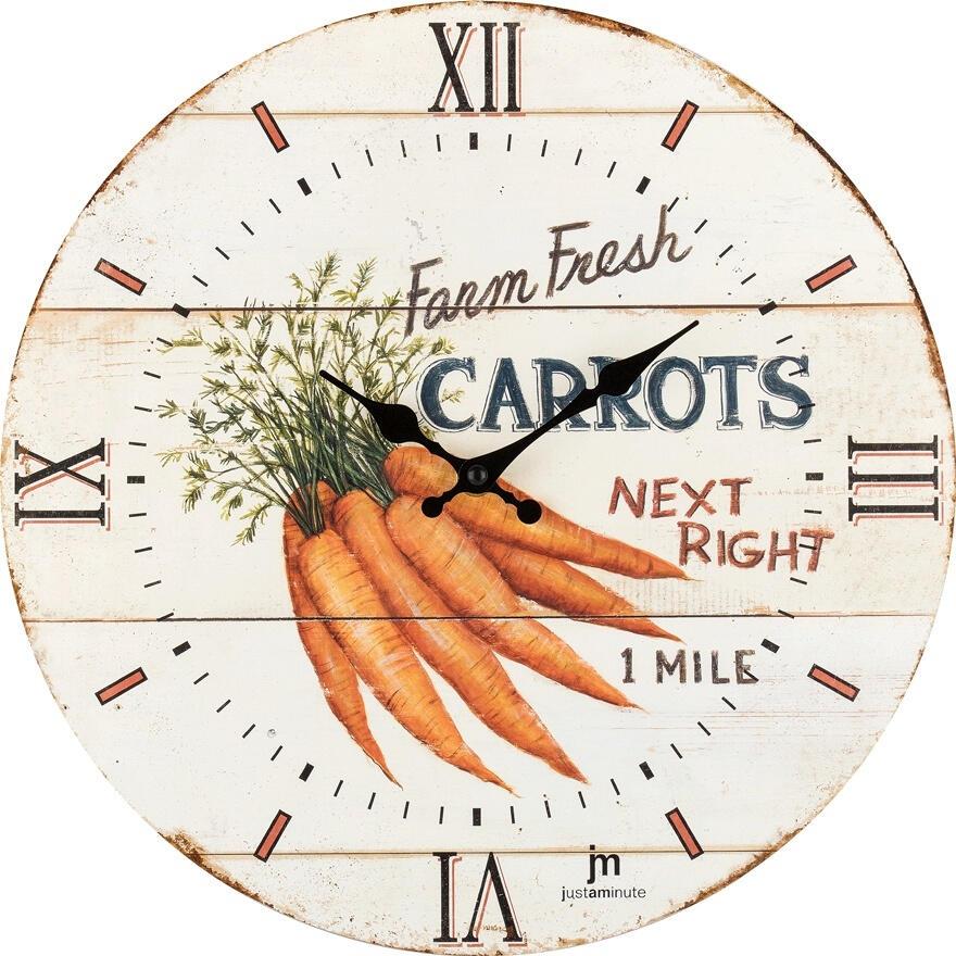 Designové nástěnné hodiny 21492 Lowell 34cm