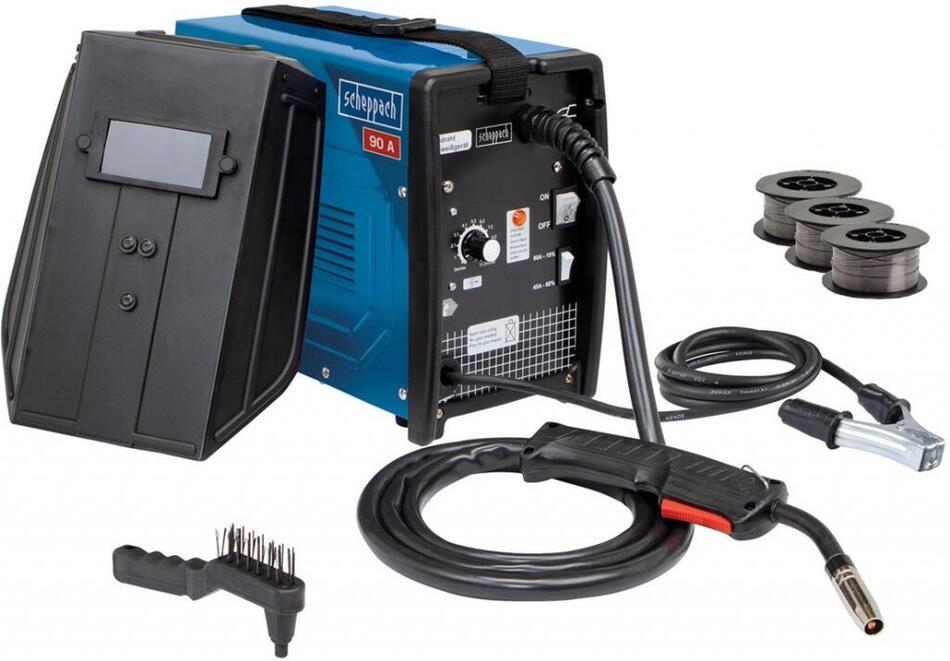 Scheppach WSE3200, svářečka s plněnou drátovou elektrodou