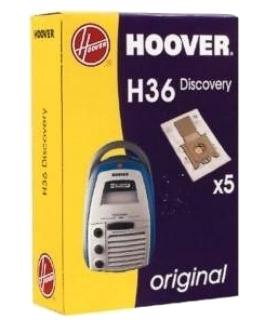 Filtr do vysavače Hoover H36 papírový, pro vysavač Octopus, Sensory, Discovery - 5ks