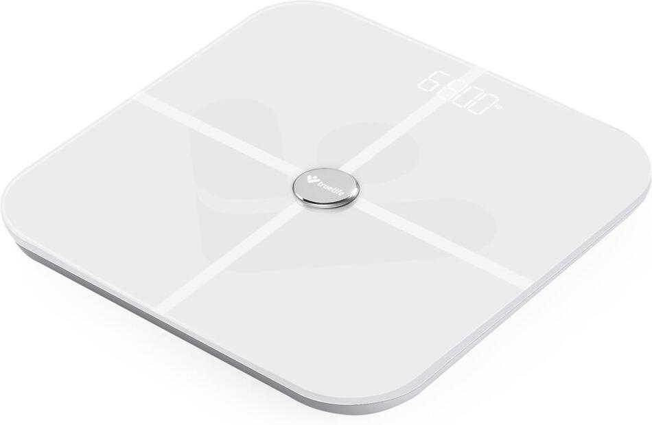 TrueLife FitScale W5 BT chytrá váha bílá