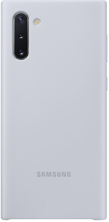 Samsung Silikonový kryt pro Galaxy Note10 Silver (EF-PN970TSEGWW)