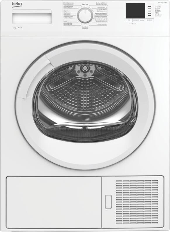 Sušička prádla BEKO HDF7412CSRX SLIM