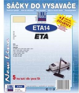 Sáčky do vysavače Jolly ETA 14 (5ks) do vysav. ETA