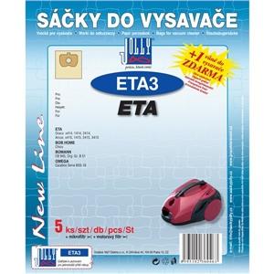 Sáčky do vysavače Jolly ETA 3 (5+1+1ks) do vysav. ETA