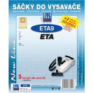 Sáčky do vysavače Jolly ETA 9 (5+1ks) do vysav. ETA