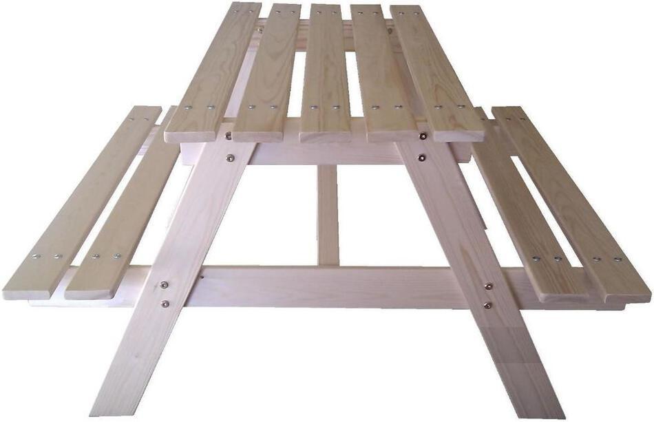 Marimex sestava dětská dřevěná PIKNIK přírodní (11640359)