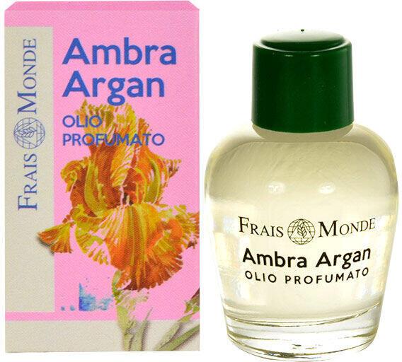 Parfémovaný olej Frais Monde Ambra Argan, 12 ml