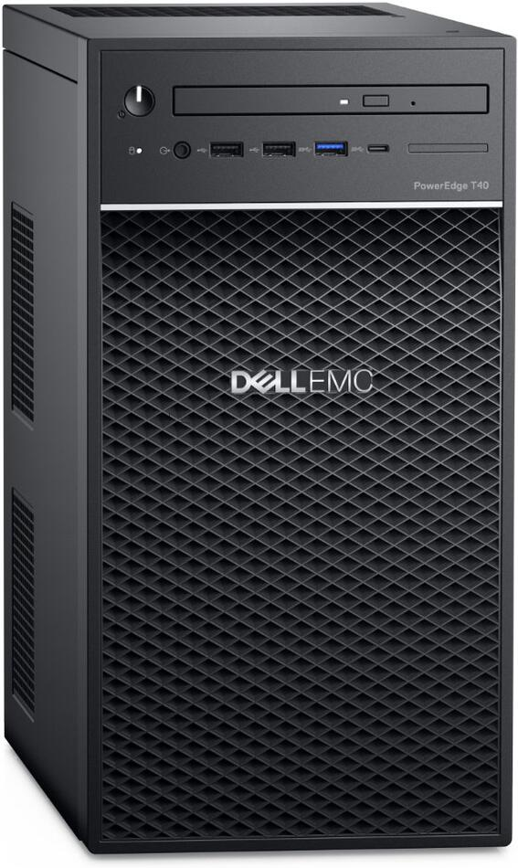 DELL PowerEdge T40/ Xeon E-2224G/ 8GB/ 1x 1TB (7200)/ DVDRW/ 3Y PS NBD on-site (PET40)
