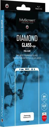 Ochranné sklo displeje MyScreen Diamond Glass edge FullGlue pro Samsung Galaxy A71 černé