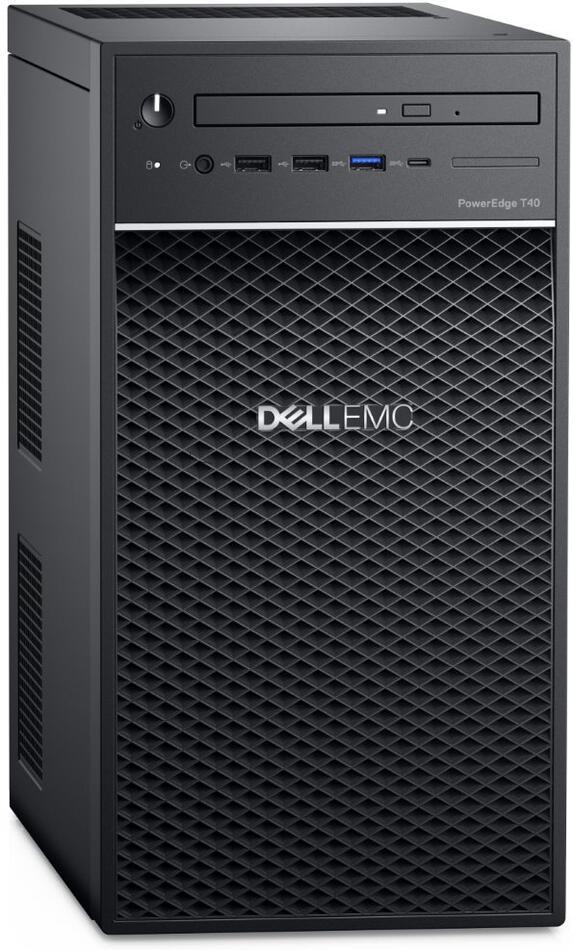 DELL PowerEdge T40/ Xeon E-2224G/ 8GB/ 2x 1TB (7200) RAID 1/ DVDRW/ 3Y PS NBD on-site (T40-821-3PS)
