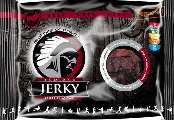 INDIANA Jerky hovězí, Peppered, 100g INDIANA s.r.o.