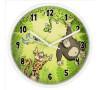 HAMA dětské nástěnné hodiny Jungle/ průměr 22,5 cm/ tichý chod/ 1x AA baterie/ bílé (jungle) (186376)