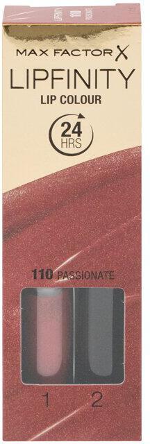 Rtěnka Max Factor Lipfinity, 4,2 ml, odstín 110 Passionate