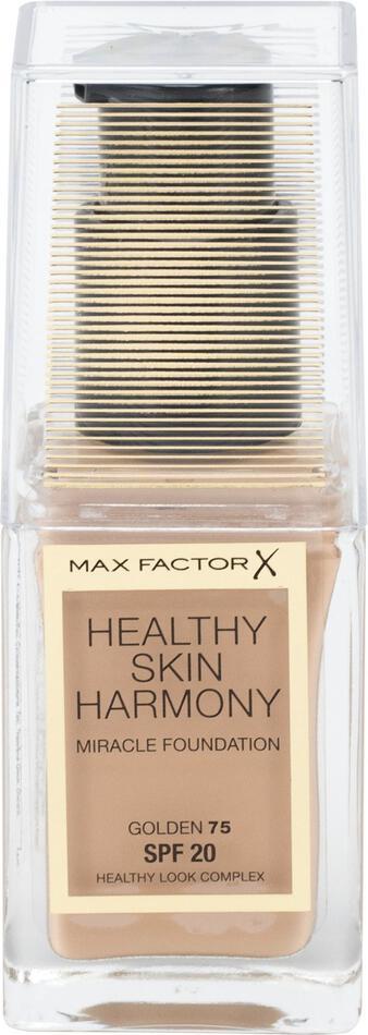 Makeup Max Factor Healthy Skin Harmony, 30 ml, odstín 75 Golden (SPF20)