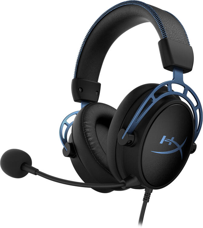HyperX Cloud Alpha S - headset černý PC (HX-HSCAS-BK/WW)
