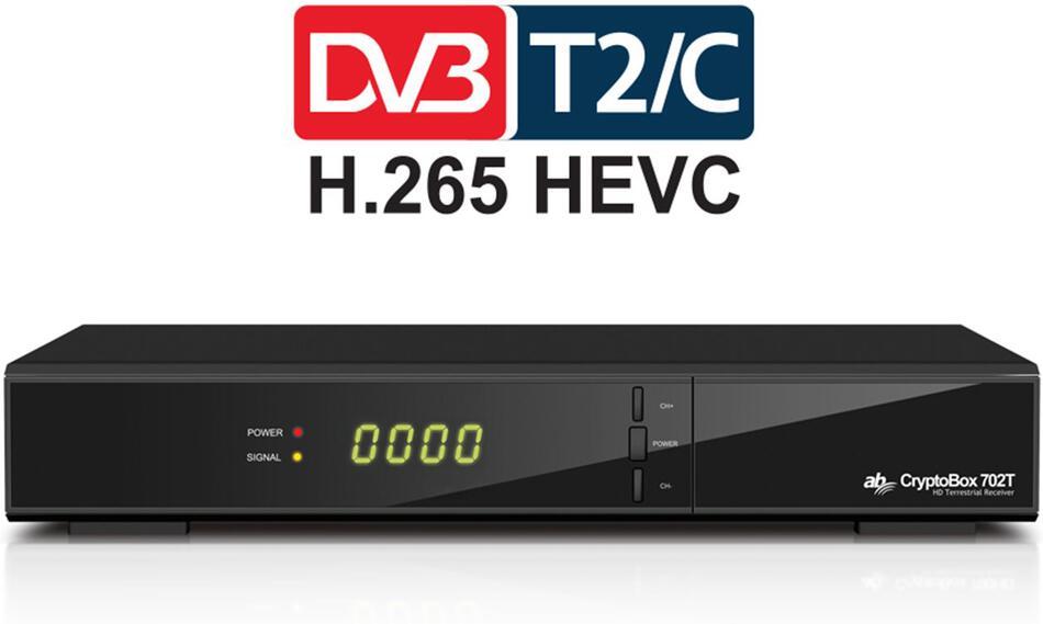 AB CryptoBox 702T HD 10 + 1 ZDARMA (AB CR 702T HD)