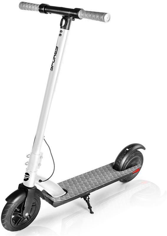 Spokey VENOM Elektrická koloběžka černo-bílá, kolečka 9,5', do 100 kg