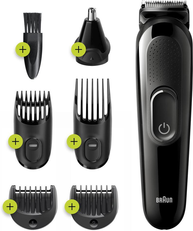 Zastřihovač vlasů Braun MGK 3220 BLK/BLK