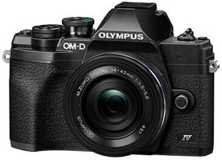 Digitální fotoaparát Olympus E-M10 Mark IV 14-42 EZ kit black/black