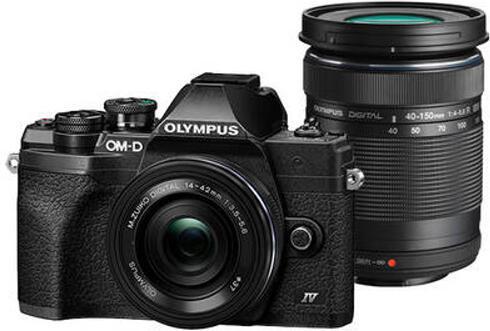 Digitální fotoaparát Olympus E-M10 Mark IV Pancake DZ kit black/black/black