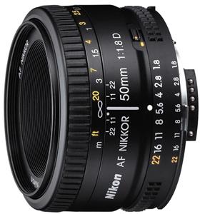 Objektiv Nikon 50MM F1.8 AF D