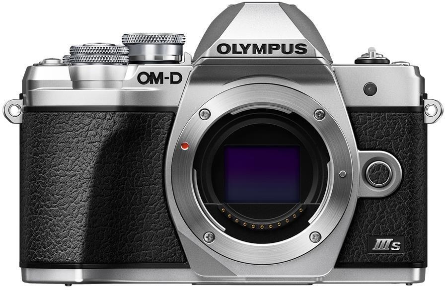 Digitální fotoaparát Olympus E-M10 III S body silver