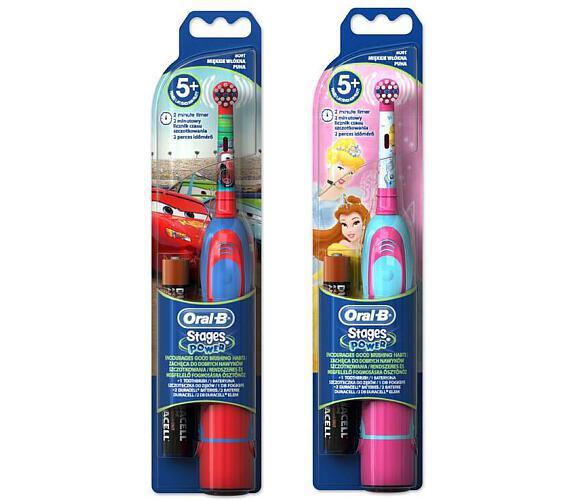 Oral-B D2 Battery kids (DB 4K) bateriový dětský kartáček